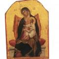 Paolo Veneziano, Madonna in trono con Gesù Bambino